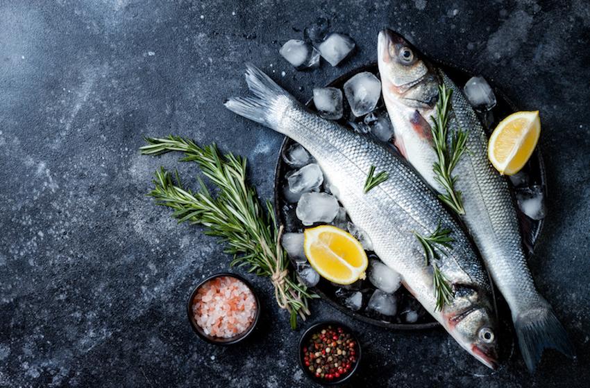 Présentation poisson cru