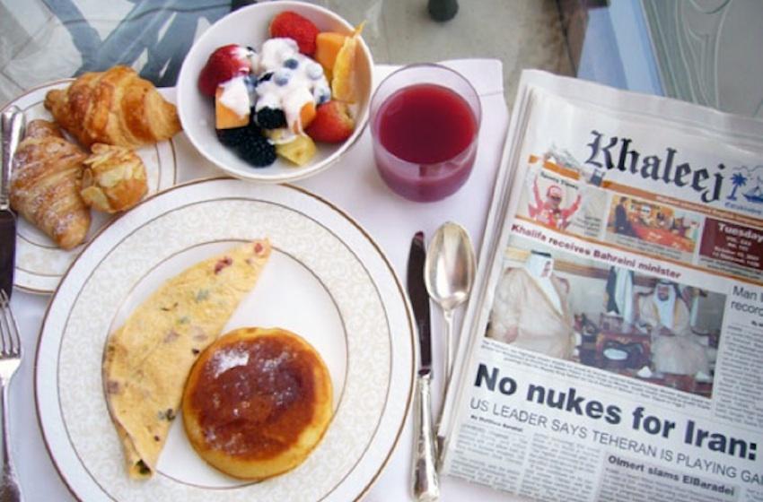 Des petits-déjeuners à Dubai