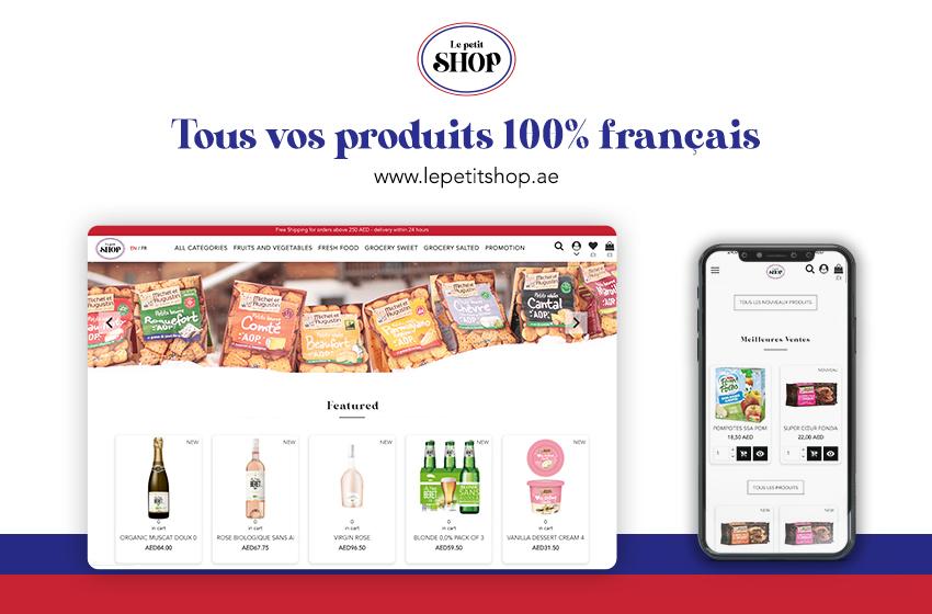 Le Petit Shop : le nouveau supermarché en ligne, 100 % français !