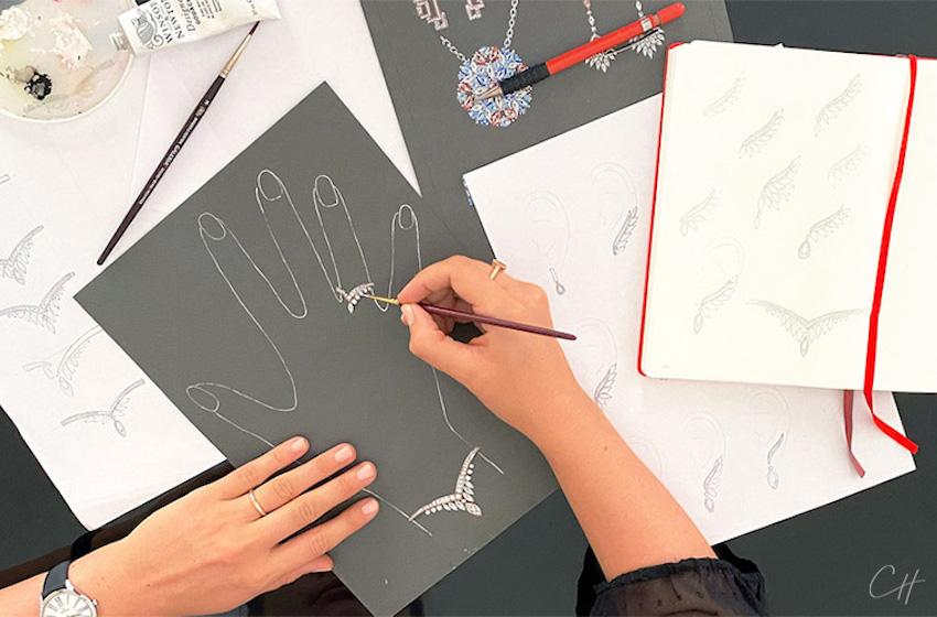 Envie d'un bijou unique et sur-mesure :  faîtes appel à Chloé Hourdain, designer Joaillerie !