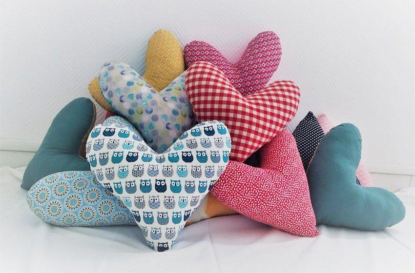 Cancer du sein : confectionnez des « Coussins Cœur » à l'occasion d'Octobre Rose !